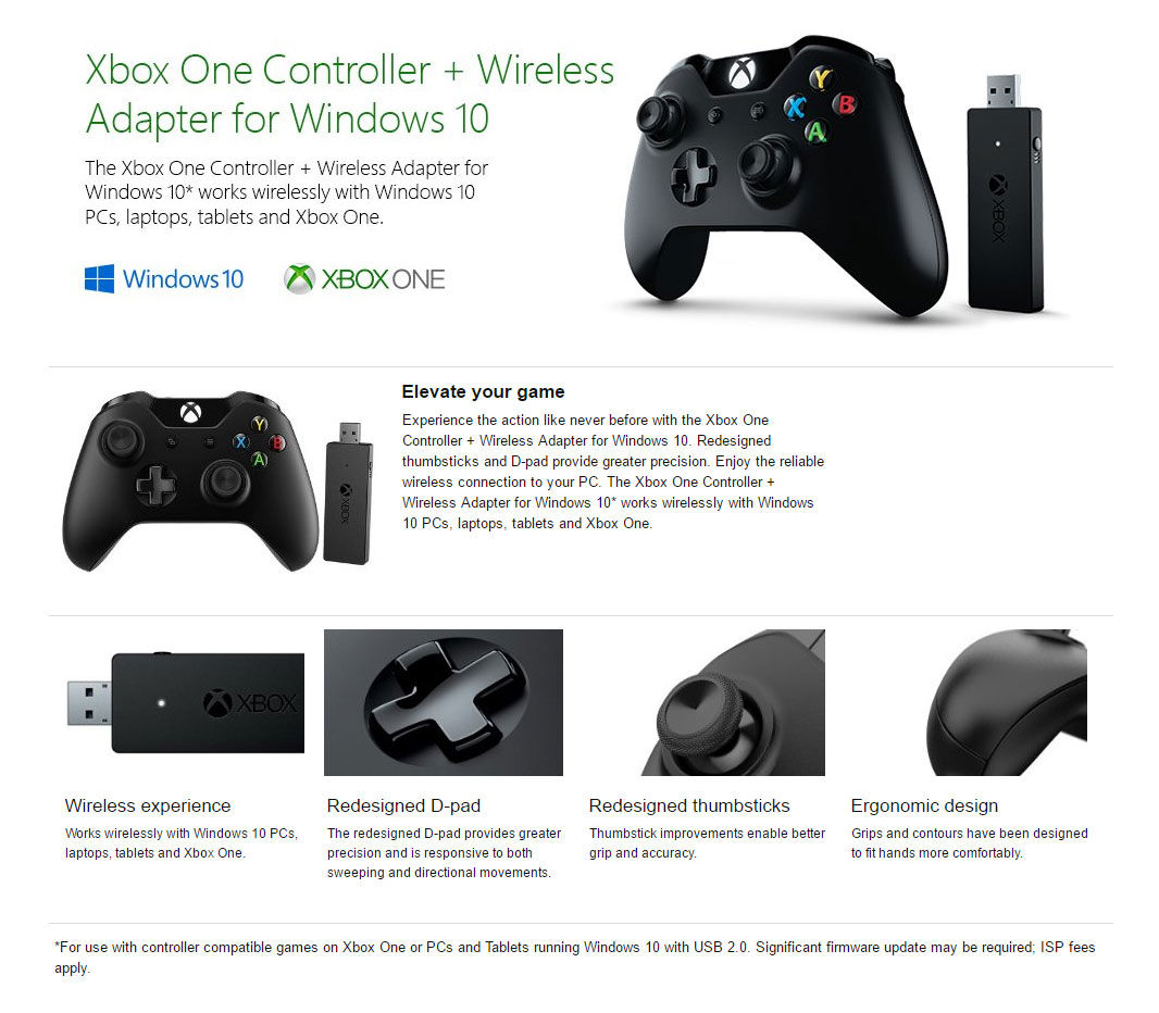 how to connect an xbox wireless controller to windows 10